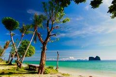 песок и пляж моря Стоковые Изображения RF