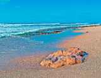 Песок и утесы Стоковое Изображение