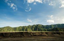 Песок и холмы Bromo Стоковая Фотография