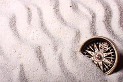 песок компаса Стоковое Изображение