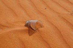 песок красного цвета пустыни Стоковые Изображения RF