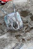 песок кучи вверх Стоковые Фото