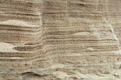 Песок, море, берег, песок, беж, желтый цвет, серый Стоковая Фотография