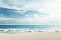 Песок моря пляжа Стоковая Фотография