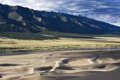 песок национального парка дюн большой Стоковое Изображение
