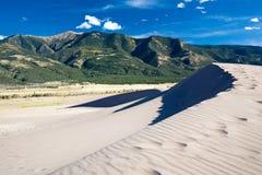 песок национального парка дюн большой Стоковое фото RF