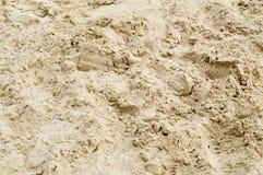 Песок на пляже стоковое изображение