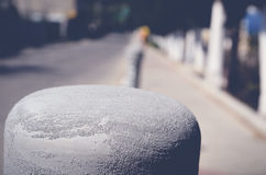Песок на поляке Стоковые Изображения