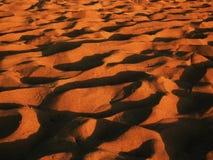 Песок на пляже Естественная предпосылка Стоковое Изображение RF