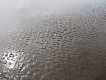 песок отражения Стоковая Фотография