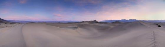 песок панорамы дюны Стоковое Изображение