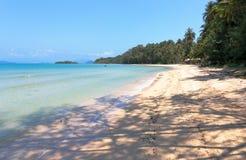 песок пляжа тропический Стоковые Фото