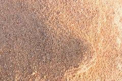 Песок показывает свет и тень Стоковое фото RF