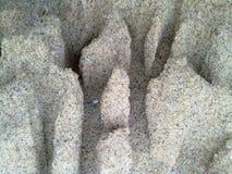 Песок после дождя Стоковая Фотография RF