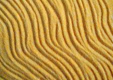 песок предпосылки затеняет желтый цвет захода солнца Стоковые Изображения RF