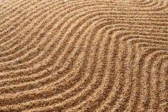 Песок предпосылки Текстура волн Стоковые Изображения RF