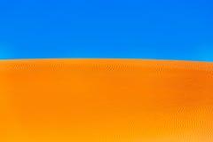 Песок пустыни Сахары Стоковые Изображения RF