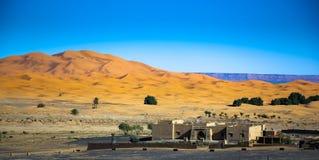 Песок пустыни Сахары Стоковые Изображения