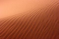 песок пустыни Стоковые Изображения