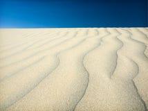 песок пустыни Стоковые Фотографии RF