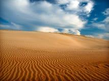 песок пустыни Стоковое Фото
