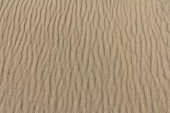 Песок пляжа в Болгарии, Чёрном море Стоковые Фото