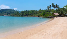 песок пляжа тропический Стоковое Фото