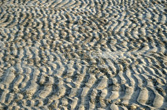 Песок пляжа Стоковые Фотографии RF