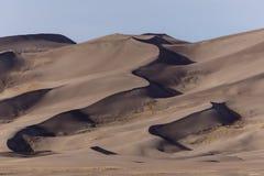 песок России kurshskaya kosa горизонта дюн шагает протягивающ к стоковое изображение rf