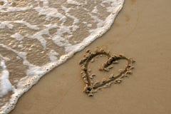 песок сердца притяжки бесплатная иллюстрация