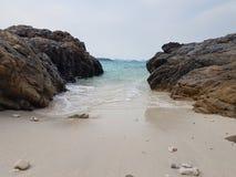 Песок Солнце моря Стоковые Фотографии RF