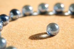 песок стекла шариков Стоковое фото RF