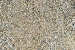 Песок с дорогой щебня Стоковое Фото