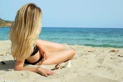 песок теплый Стоковые Фотографии RF
