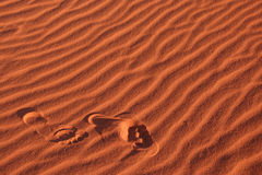 песок шагов Стоковые Фотографии RF