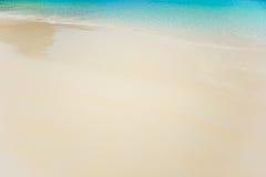 Песок южного моря в Таиланде Стоковое Изображение