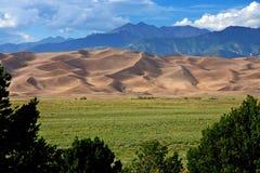 песок дюн большой Стоковая Фотография