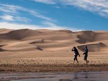 песок дюн большой Стоковые Фото