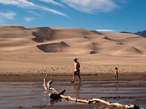 песок дюн большой Стоковое Фото