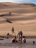 песок дюн большой Стоковые Фотографии RF