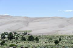 песок дюн большой Стоковые Изображения