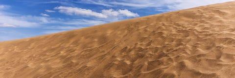 Песок дюн пустыни в Maspalomas Стоковая Фотография RF