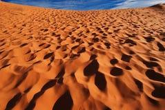 песок Юта дюн коралла розовый Стоковое Изображение RF