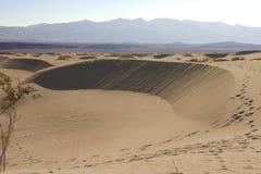 песок mesquite дюн плоский Стоковая Фотография RF