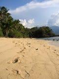 песок philippines шагов Стоковое Изображение RF