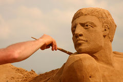 песочная скульптура Стоковое Фото