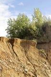 песочный наклон Стоковое Изображение