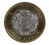песо 10 монетки Стоковые Фото