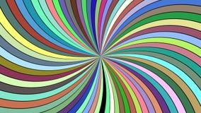 Пестротканая абстрактная психоделическая предпосылка свирли - векторная графика Стоковые Изображения