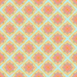 Пестротканая геометрическая безшовная картина Стоковые Изображения
